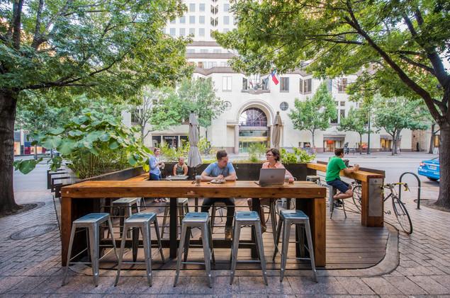 royal blue pocket patio