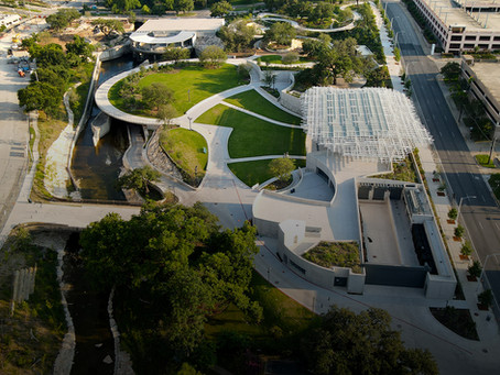 waterloo park featured in Texas Architect