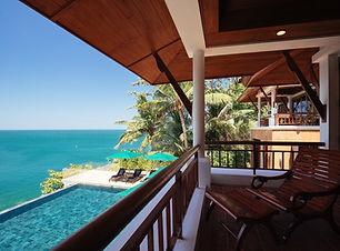 Villa Sunyata - Pool & Sea Views from th