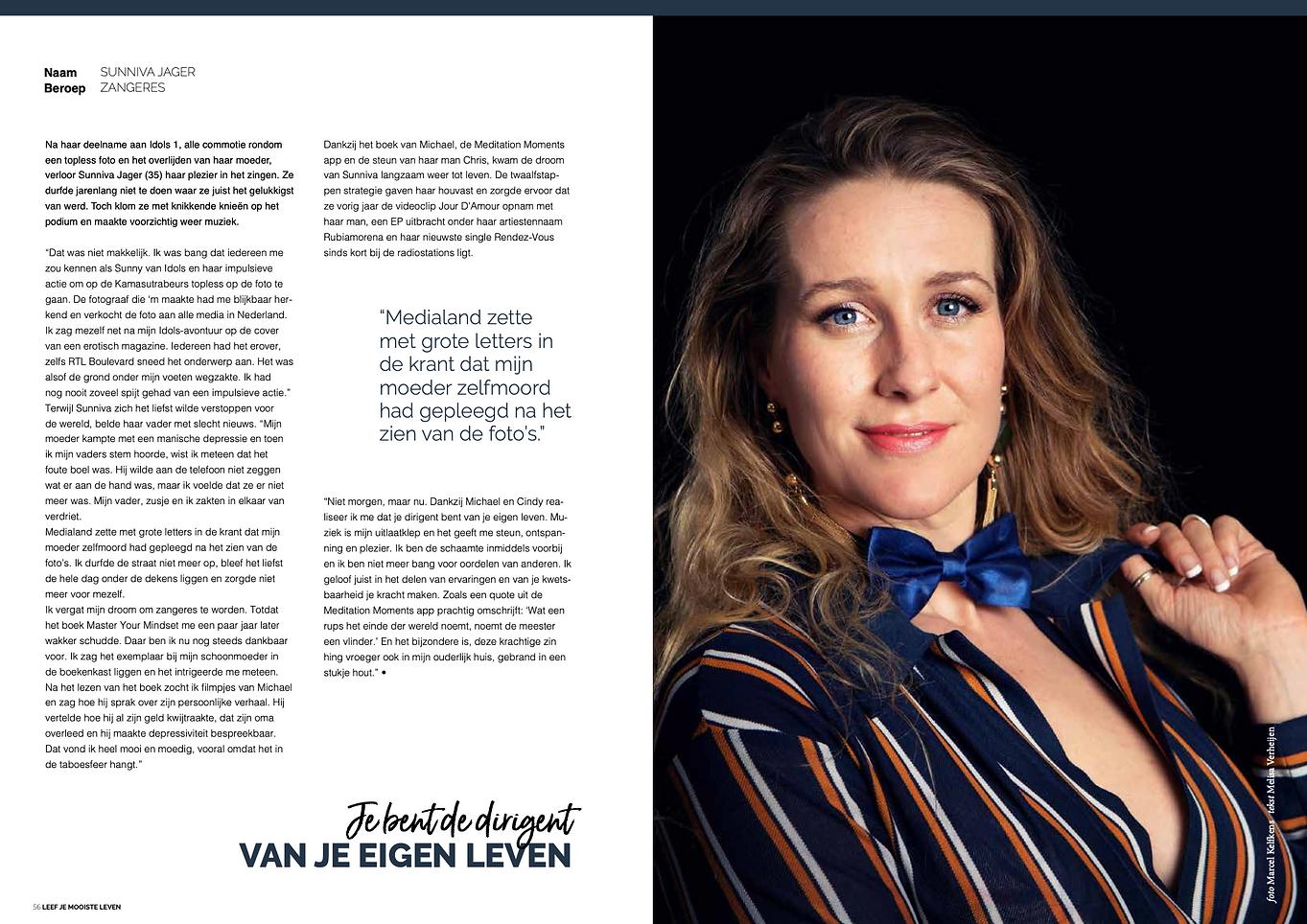 Interview Sunniva Jager - Melisa Verheij
