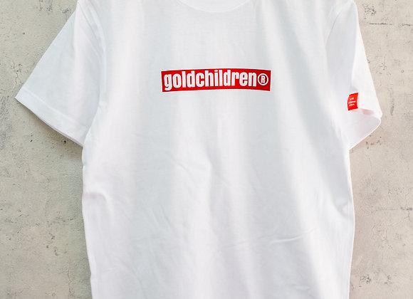 GCR Tシャツ ホワイト&レッド