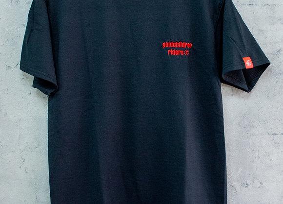 GCR フロント刺繍Tシャツ