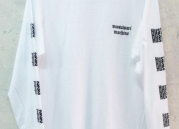 GCRロングTシャツ ホワイト