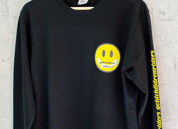 [GCR]ニコチャンロングTシャツ黒