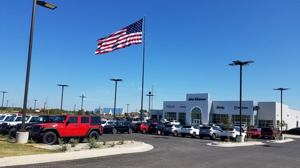 Jim Glover-American Flag