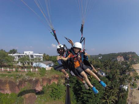 Paragliding Varkala
