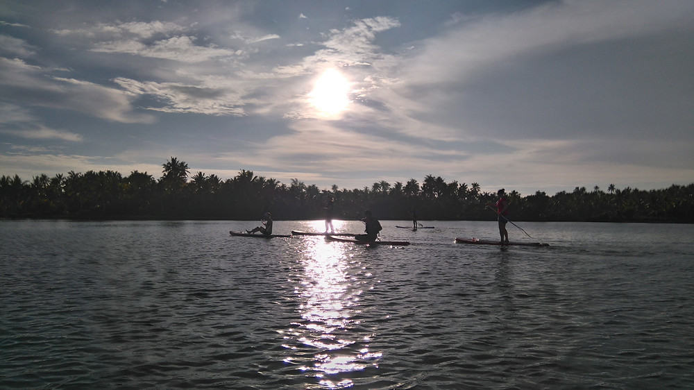 Stand Up Paddle Sunset Trip