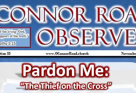 Pardon Me: The Thief on the Cross