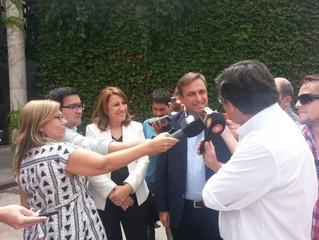 Rosario: Fein se reunió con Mestre y expresaron su preocupación por los subsidios al transporte