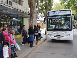San Luis: Transporte urbano: Villa Mercedes en el podio de las ciudades con boletos más caros