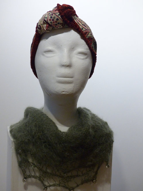 Maroon Liberty Art Headband