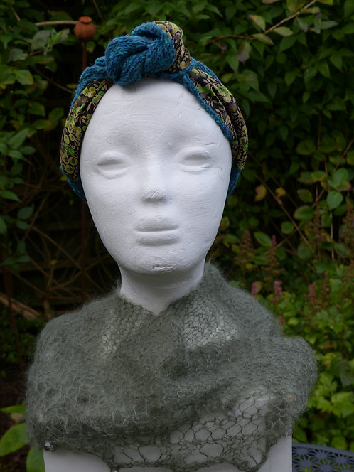 Teal Liberty Art Headband