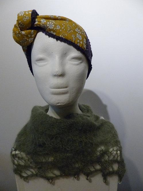 Blueberry Liberty Art Headband
