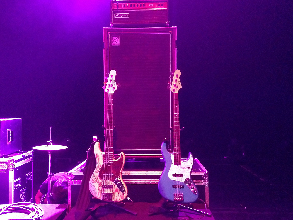 Singapore Jazz Festival rig, my own M265, rosewood fretboard this time