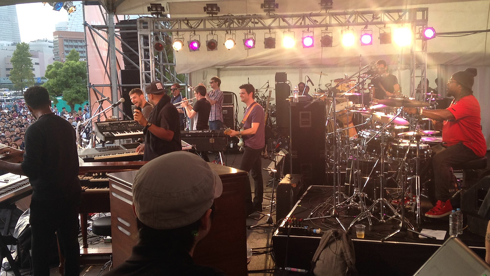 Snarky Puppy having fun