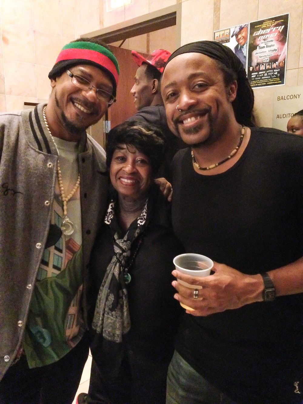 w/Toney Smith and Maureen 'Ma Dukes' Yancey