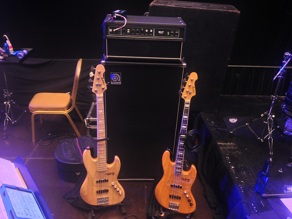 Atelier Z M265 and M245 basses