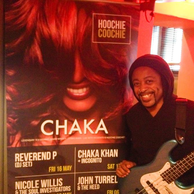 Saturday 10th May 2014, Incognito backs Chaka Khan at the Southport Weekender Festival