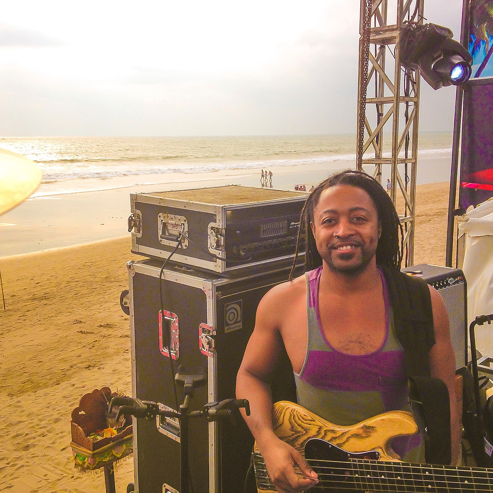 Where the Bali gig would have been if not for the tropical storm!