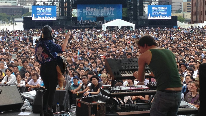 Sunday 27th August 2015, Blue Note Jazz Festival, Yokohama Akarenga, Japan