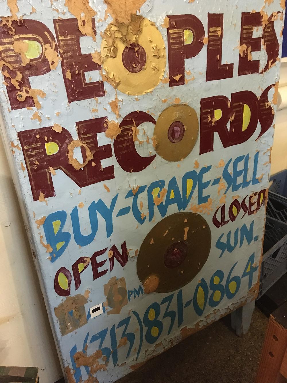 People's Records, Detroit MI