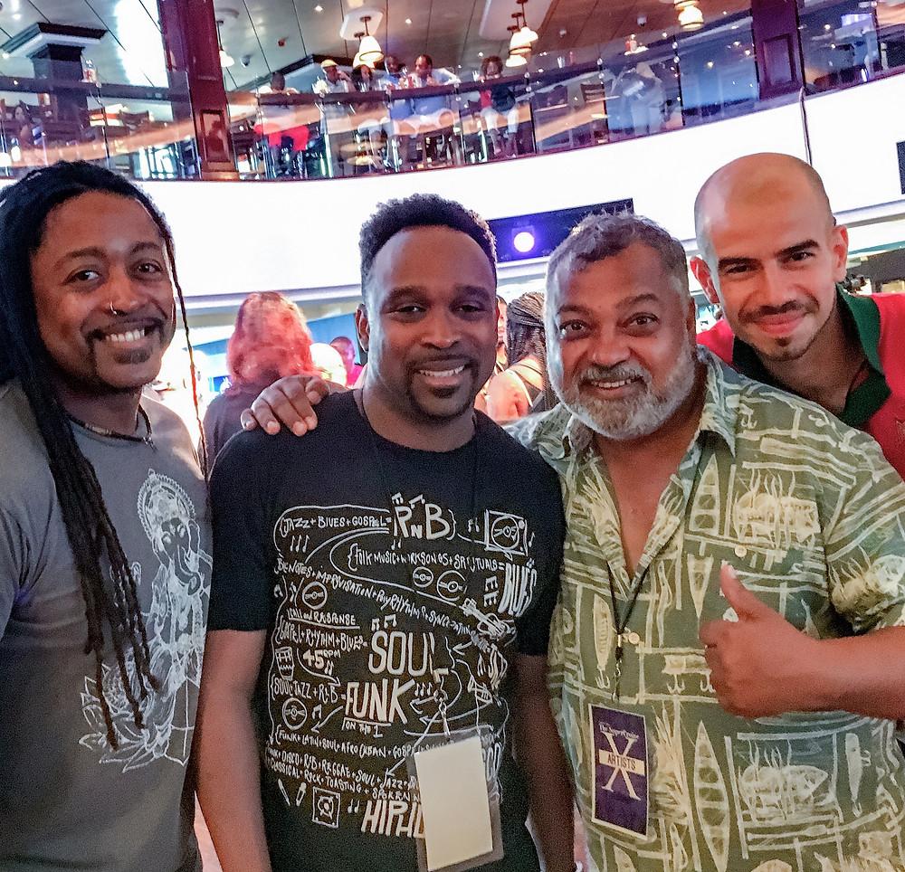w/DJ Spinna, Bluey and João Caetano