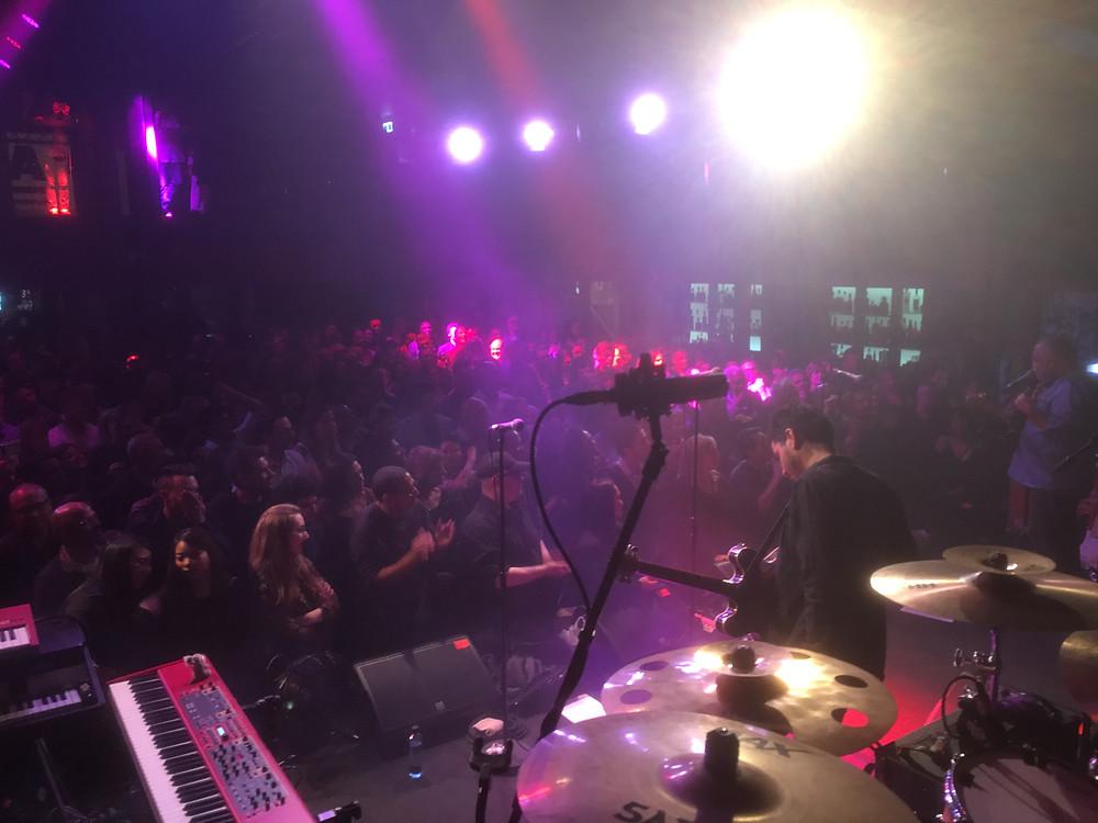 Full house at Alumbra, Melbourne