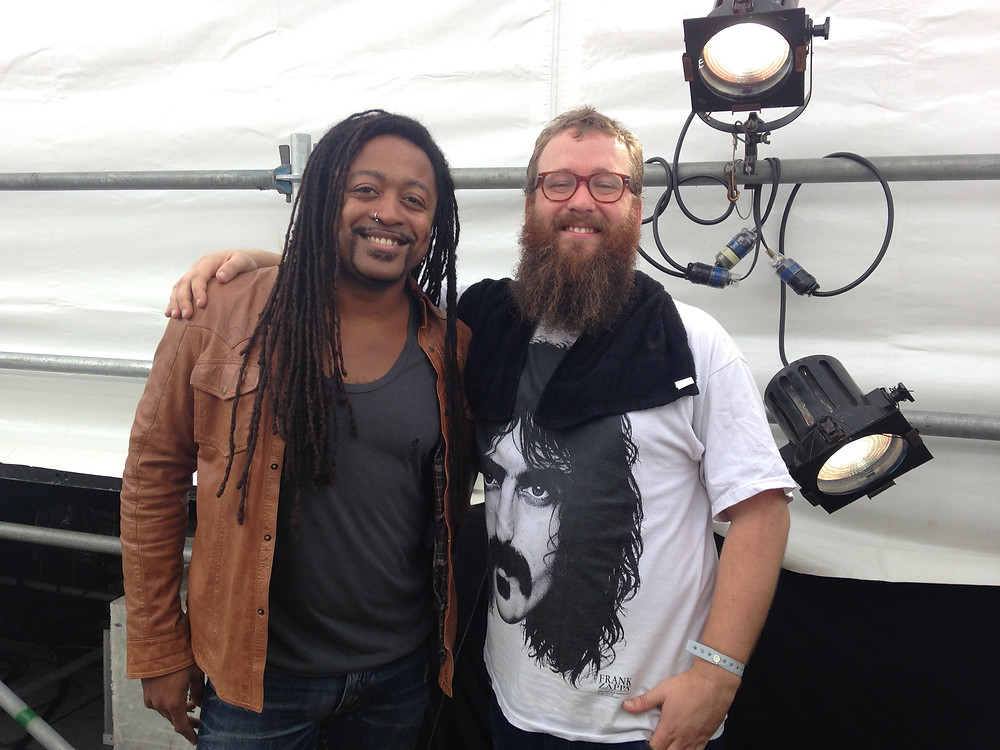 W/Paul Bender of Hiatus Kaiyote