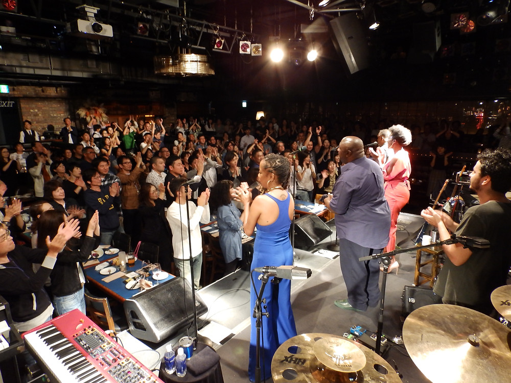 Packed house in Tokyo