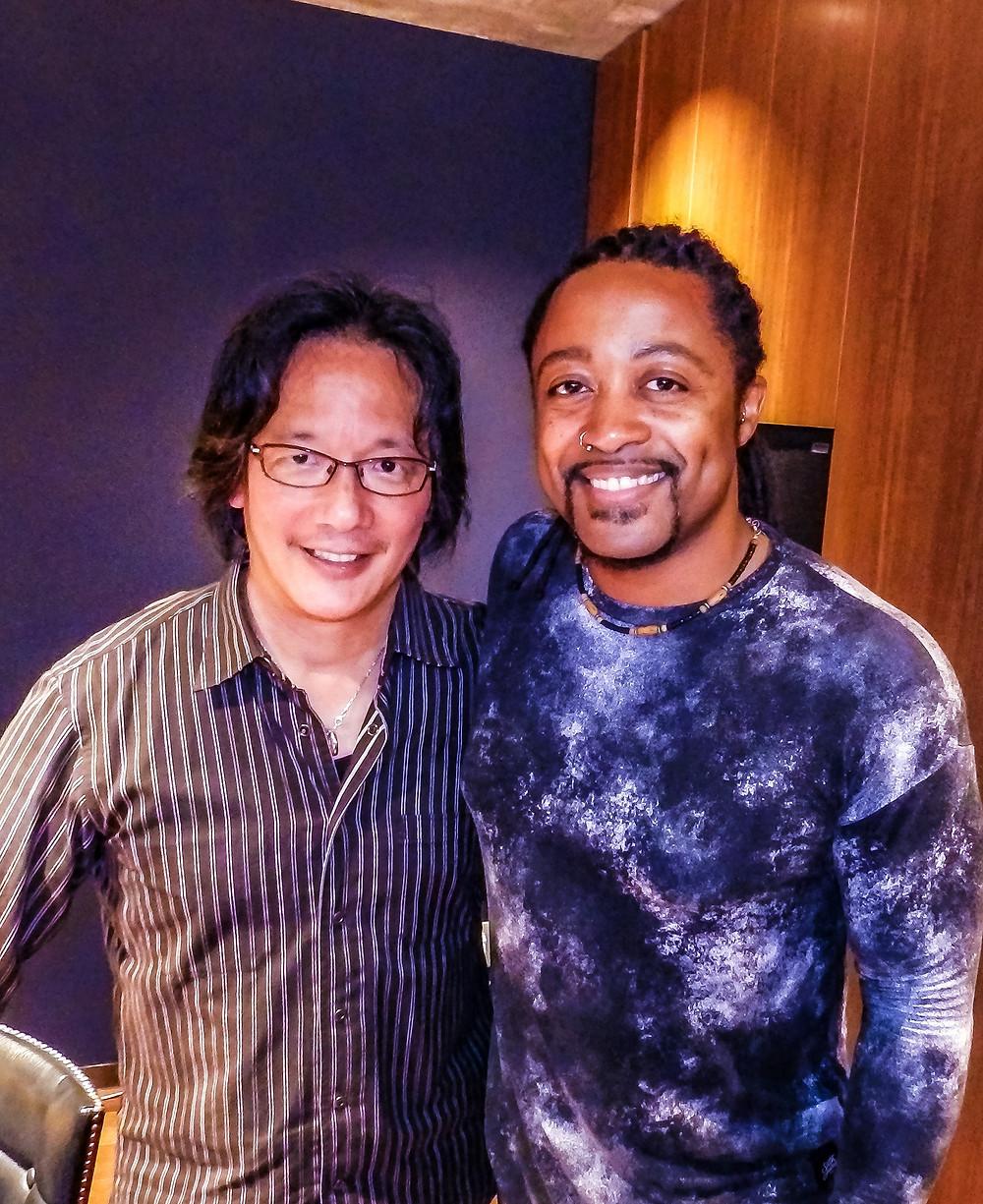 w/legendary keyboardist Philip Woo