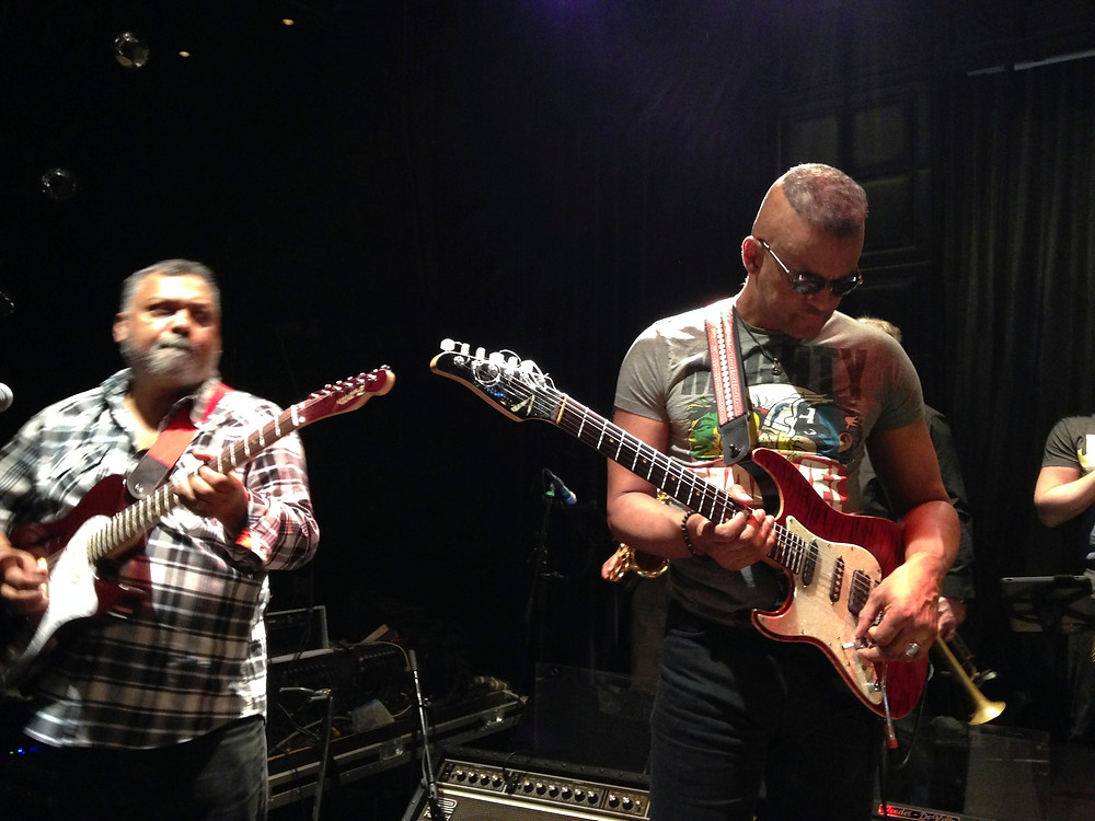 Bluey and Dave Ital guitars