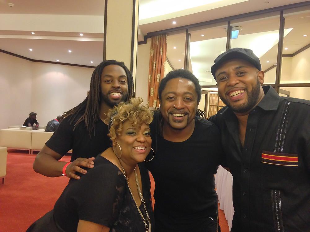 W/Dexter, Vula & Tony Momrelle