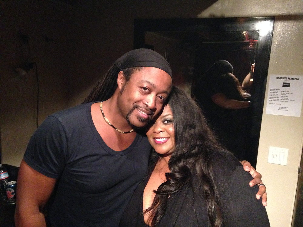 w/Maysa in San Francisco