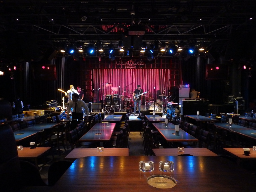 Setting up in Tokyo