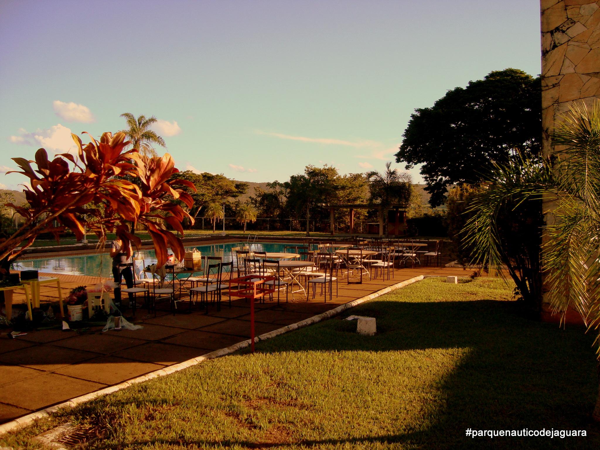 Área entorno da piscina