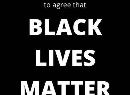Black Lives Matter. Police and justice reform matter.
