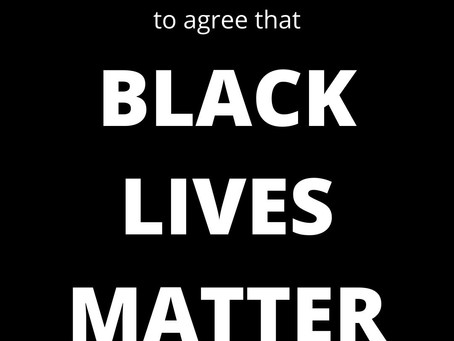 Black Lives Matter. Police and justice reform matter.