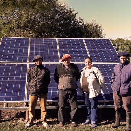 Energía Solar para Puestos de Campo