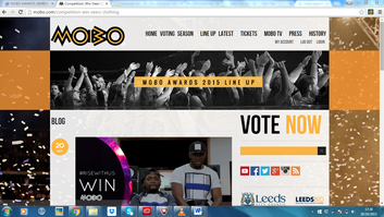 VEECI X THE MOBO'S: COMPETITION