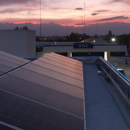 Involucramiento de YPF en la energía solar