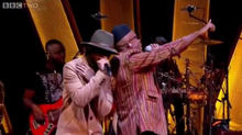 """COMPOZERS (Band) WEAR VEECI ON BBC TWO'S """"Later...With Jools Holland"""" TV Show"""