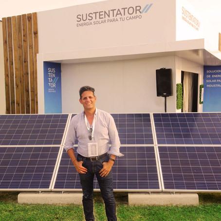 Energía solar, un recurso que el campo puede aprovechar gracias a Sustentator