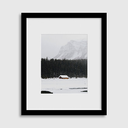 Lake Louise Print - Custom Framed