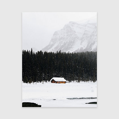 Lake Louise Bare Print