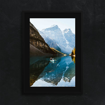Moraine Lake Framed Print