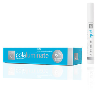 Pola Luminate paint on tooth whitening pen available at The House of Mouth