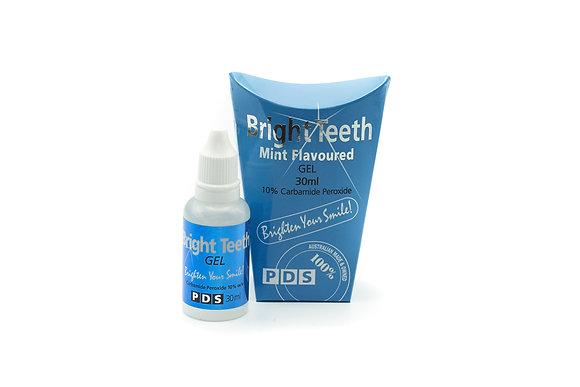 PDS Bright Teeth 10% Whitening Gel Bottle 30ml