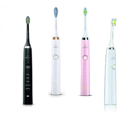 Sonicare diamondclean electric toothbrush, diamond clean, sonicare
