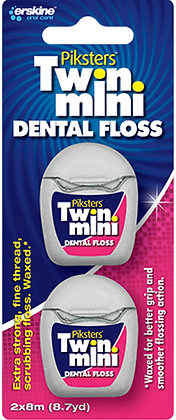 Dental Floss Mini Twin Pack (2x8m). From $7.32ea