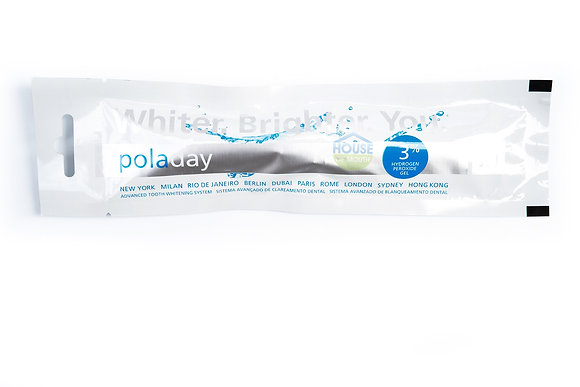 Poladay 3% 3gram Whitening Gel Syringes